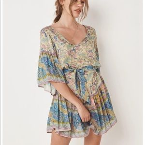 Spell and the Gypsy oasis mini dress